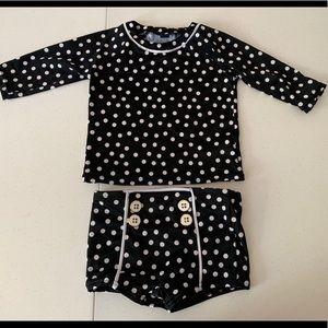 Gap size 4, girls 2 piece swimsuit